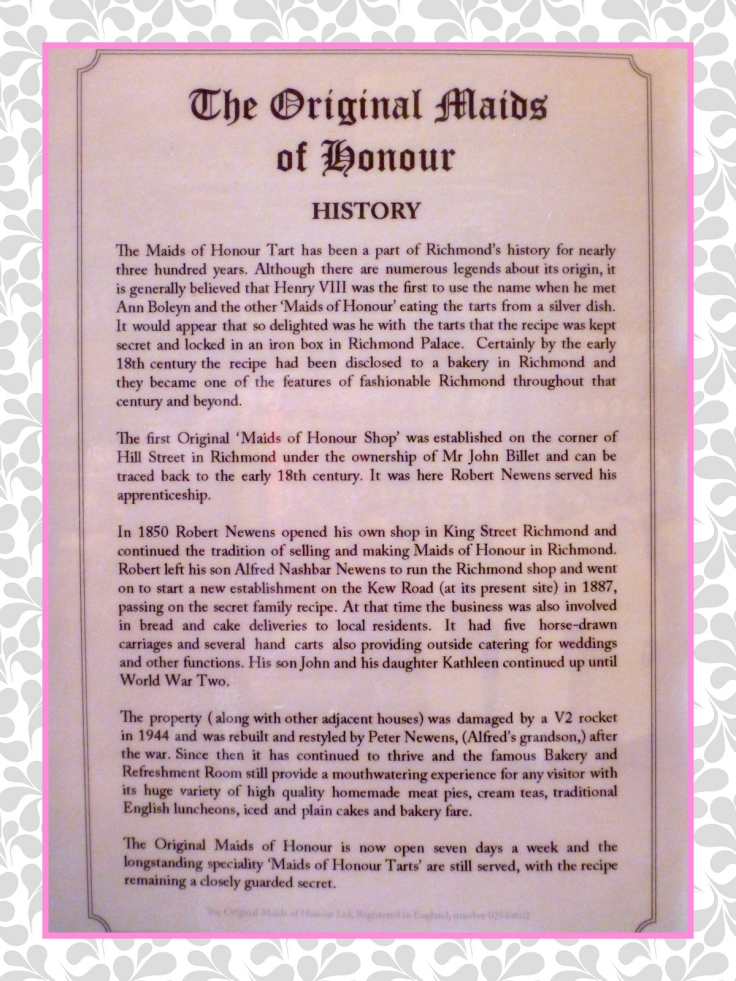 History of Maids of Honour