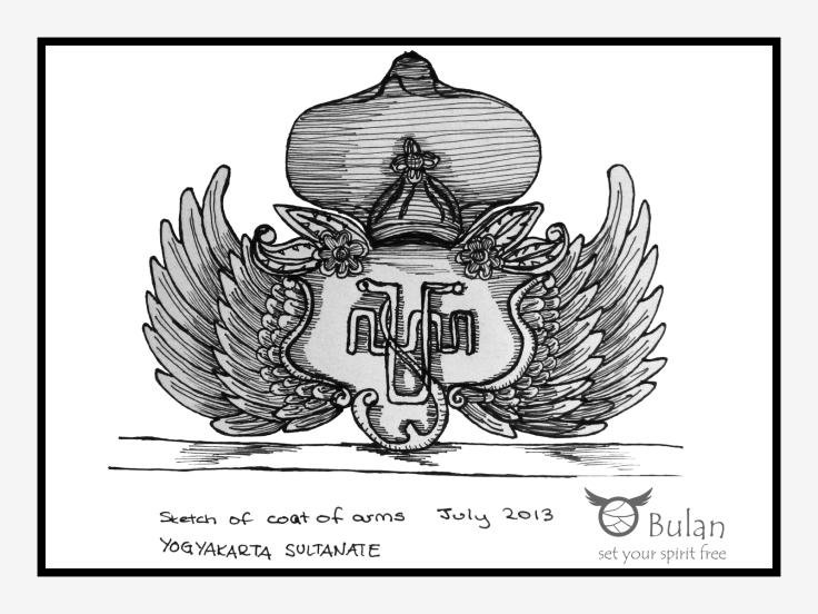 Sketch of Jogja coat of arms