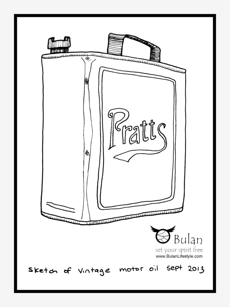 Pratts motor oil