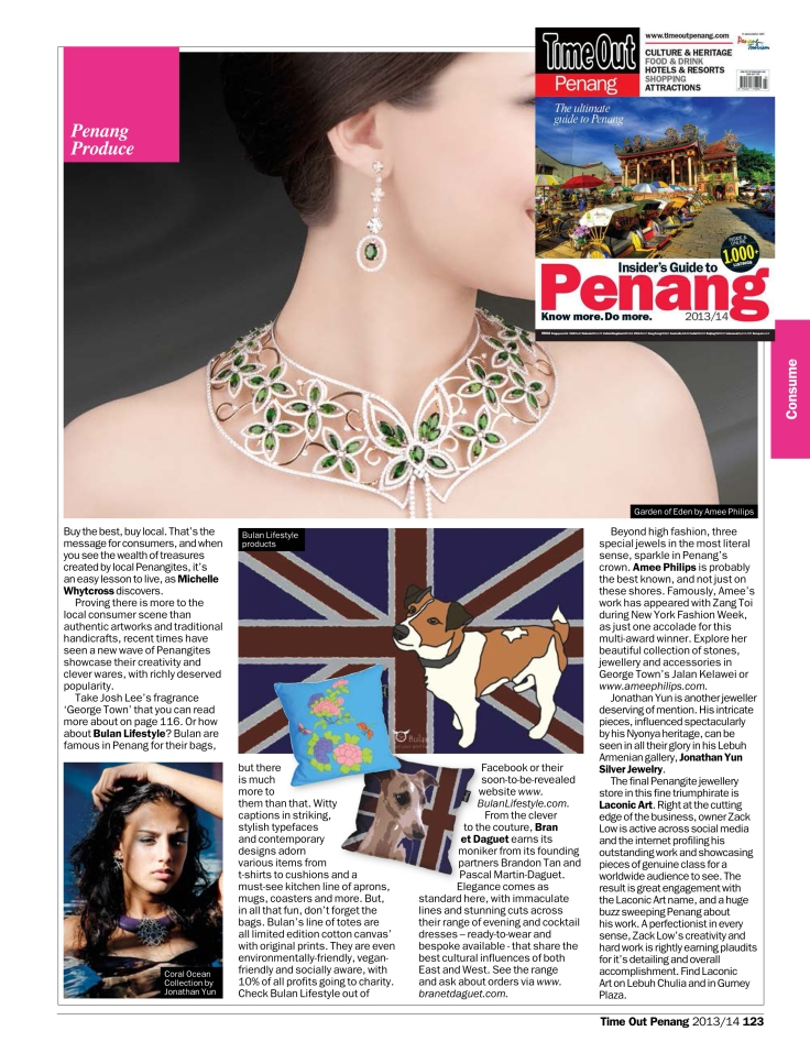 Time Out Penang guide 2013/4