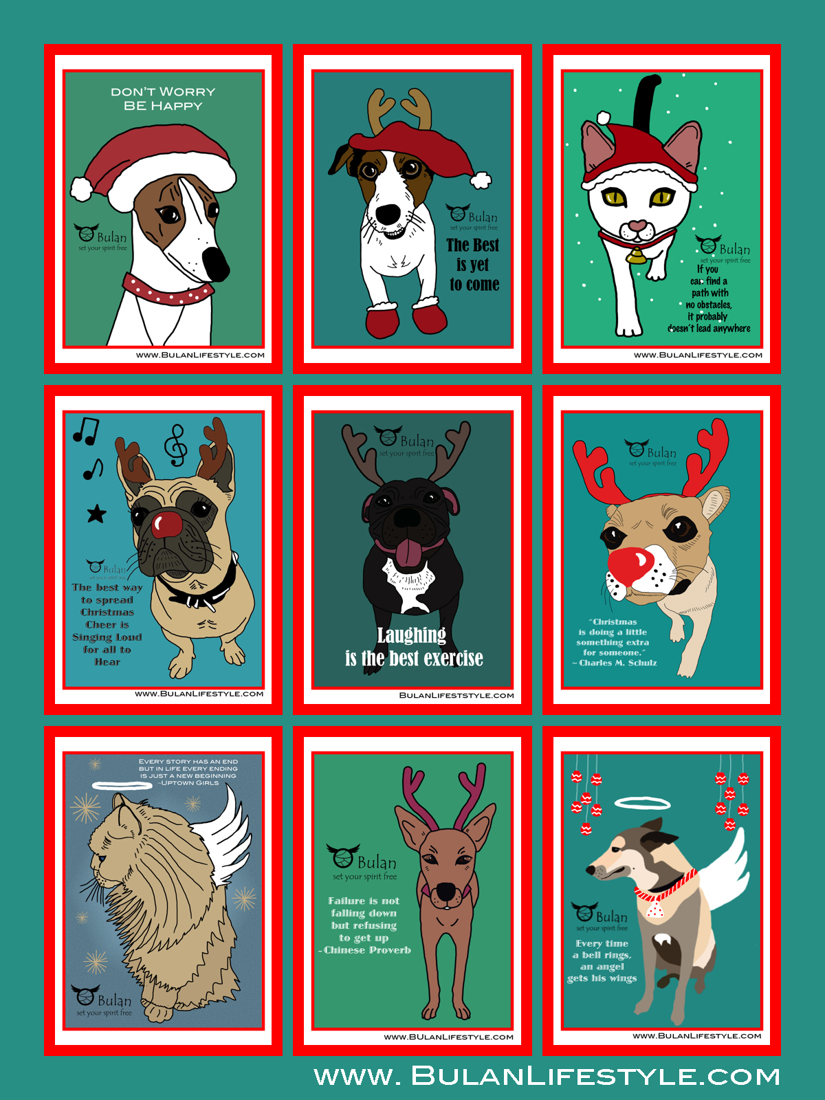 A Big Christmas Wish From All The Animals Xoxo Bulanlifestyle