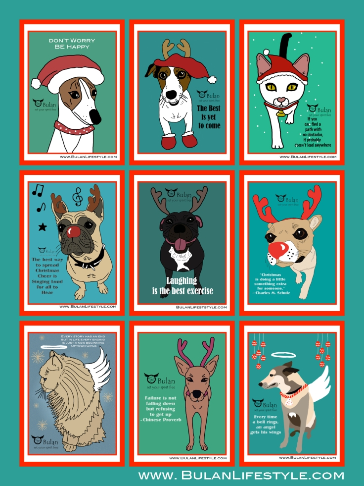 All christmas animals