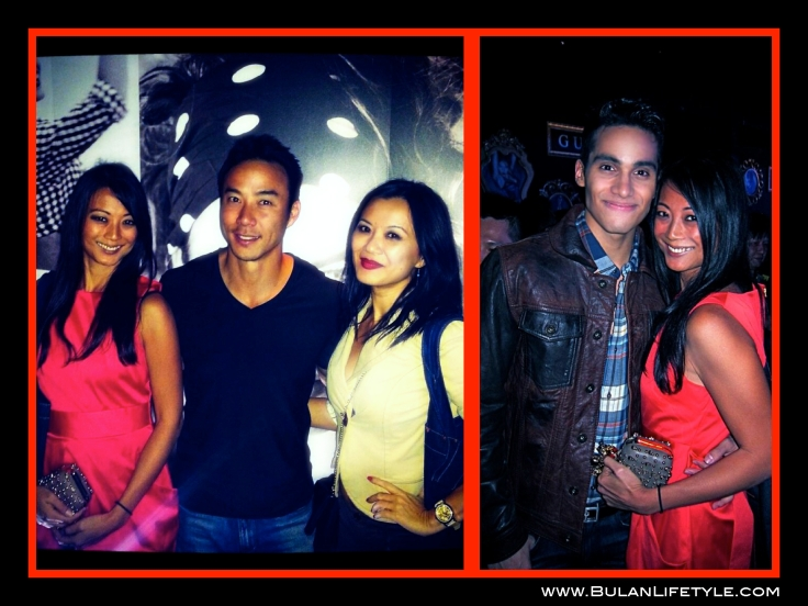 Star Struck with Allan Wu, host of Amazing Race Asia and actress Sue Tan. America's Next top model top 5 Martin Cortes