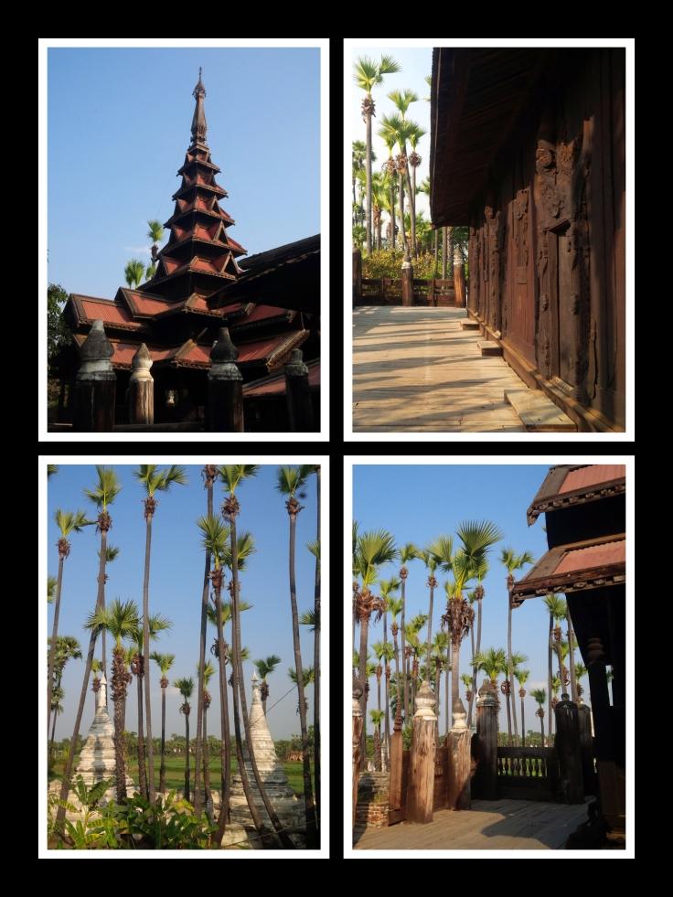 Bagaya teak monastery