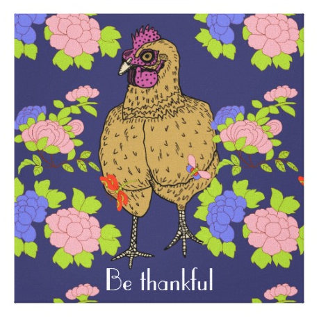 """Roy says """"Be thankful"""""""
