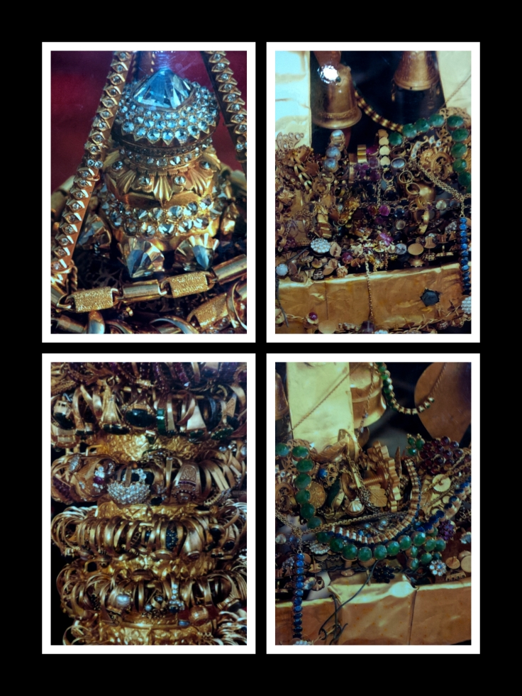 Shwedagon pagoda jewels