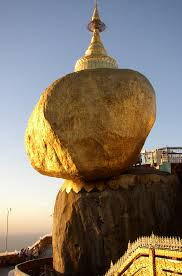Image of Golden rock taken from Wikipedia