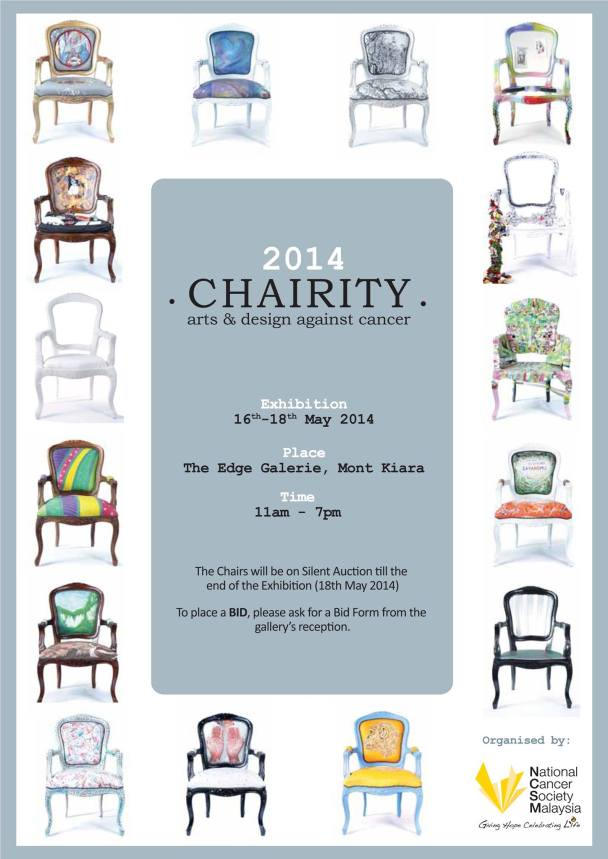 Chairity at The Edge Galerie