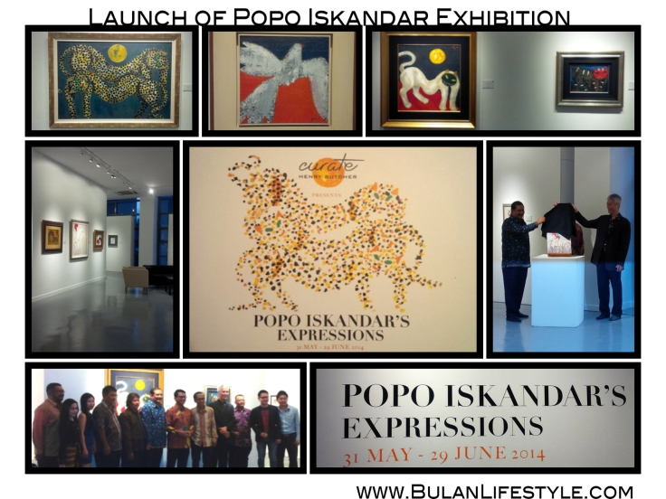 Launch of Popo Iskander Exhibition at Curate