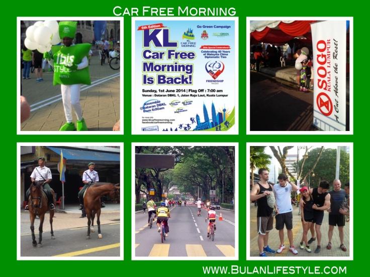 KL car free morning