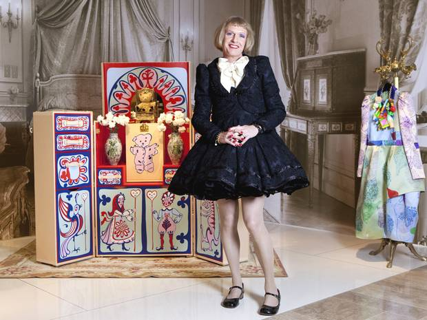 Grayson Perry photo credit The Independent