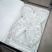 #Spoonchallenge 7 Book Poem by Paul Eluard.