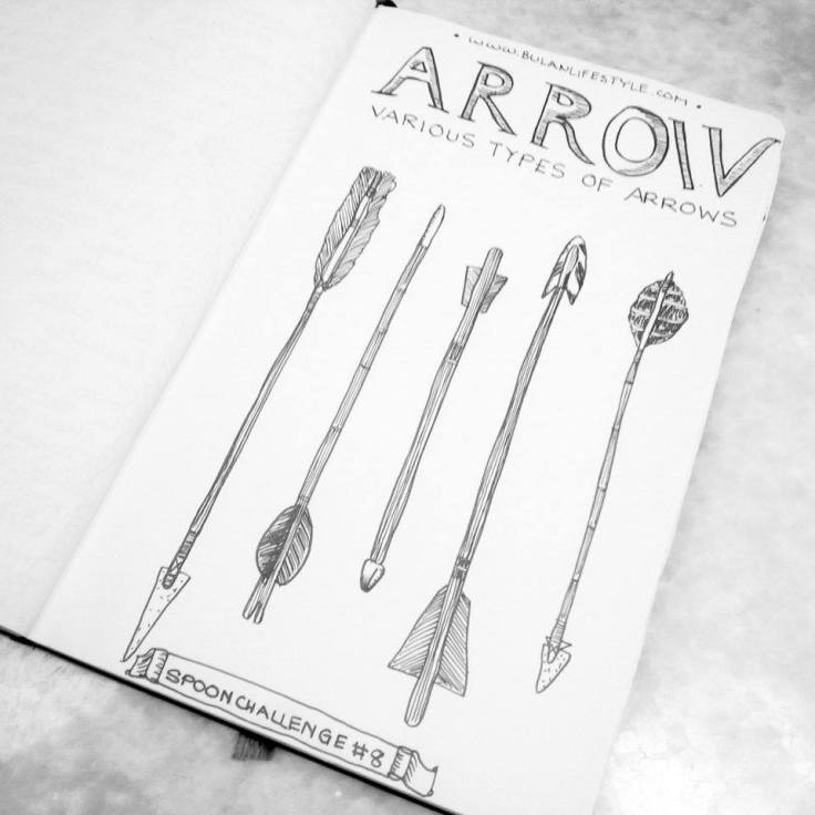 #Spoonchallenge 8 Arrow