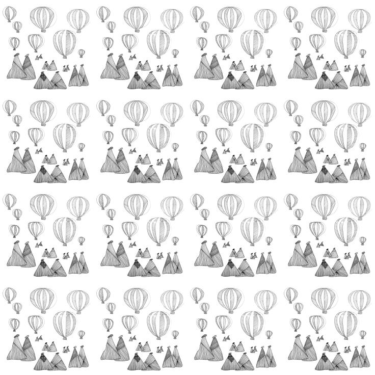 #Spoonchallenge 4 Landscape pattern experiment