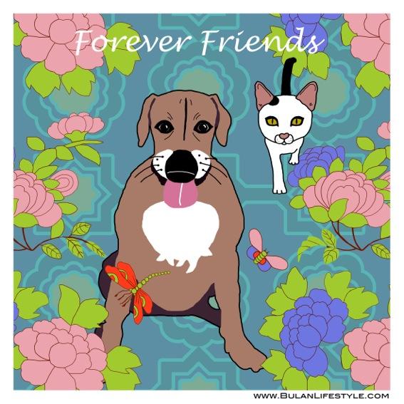 Casper + Kobe Forever friends