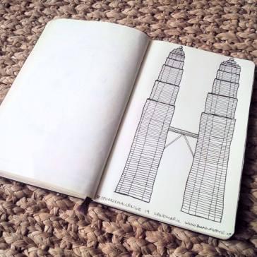 #spoonchallenge 19 Landmark Petronas twin towers