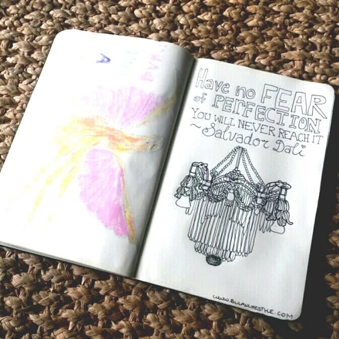 #doodle chandelier