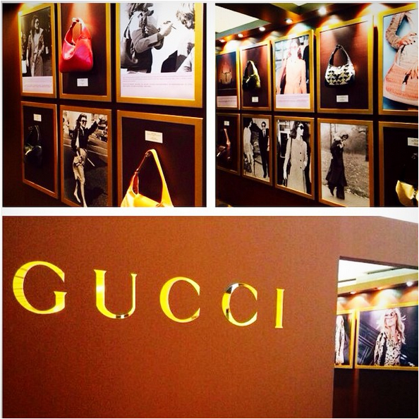 Gucci 60 years made in italy Pavilion, KL  Photo credit Pavilion KL