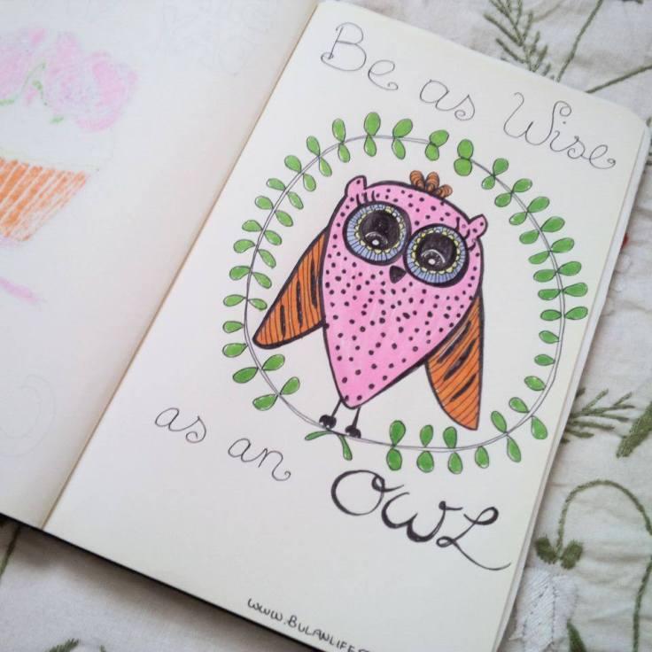 wise like an owl