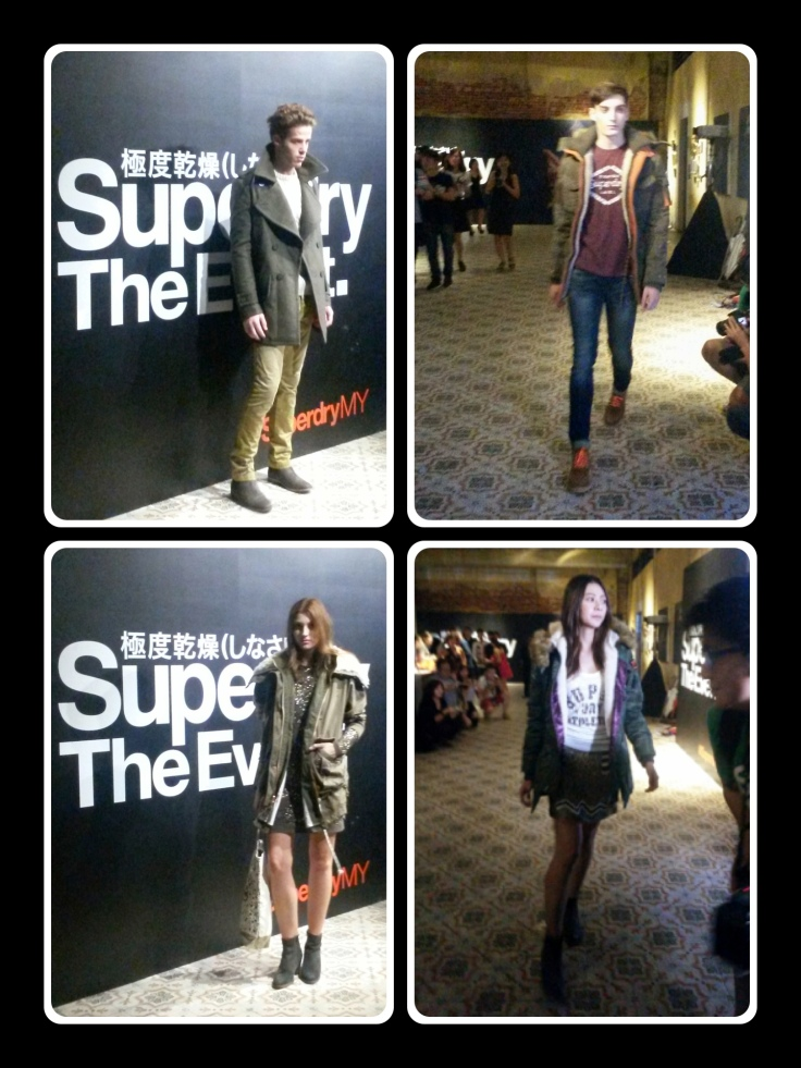 Official launch of Superdry in Penang, Hin Bus art Depot
