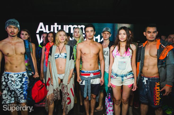 SS2015 Photo courtesy of Superdry