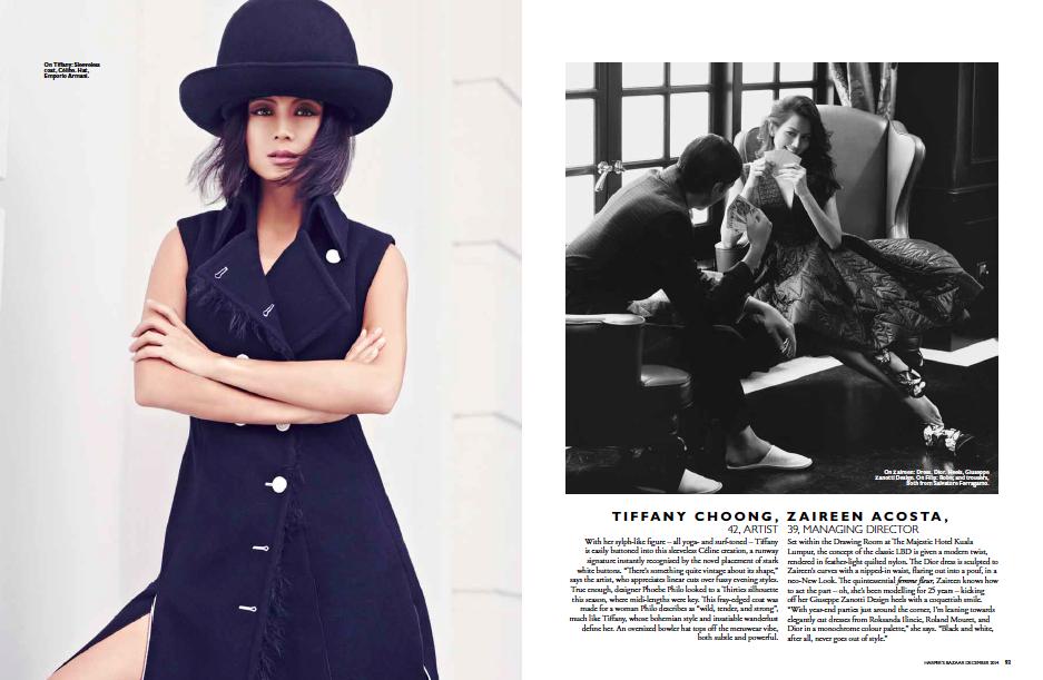 Harpers Bazaar Malaysia's Most Stylish Women 2014