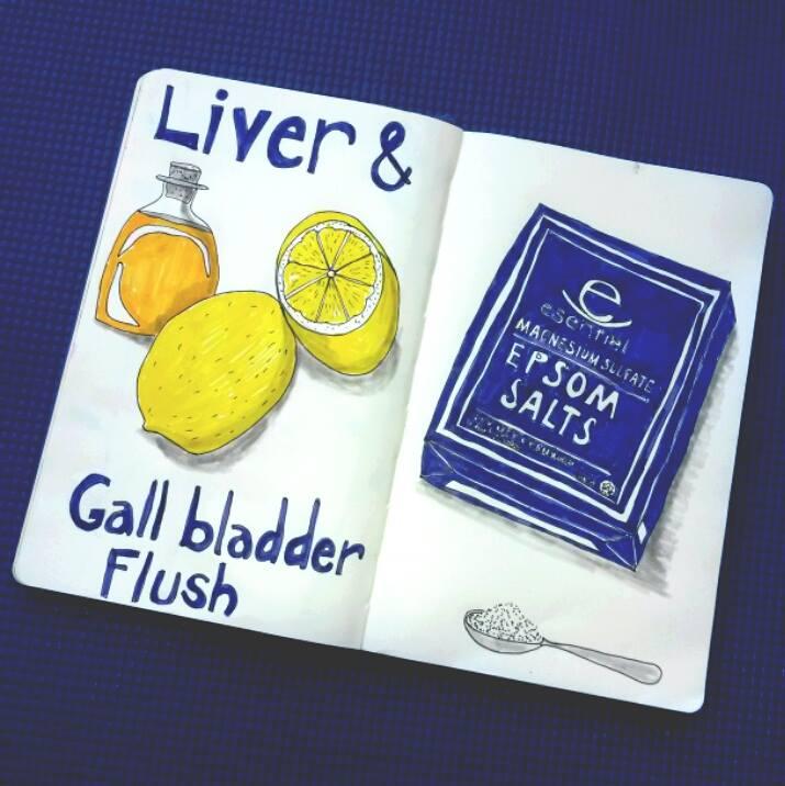 Live and Gall Bladder flush