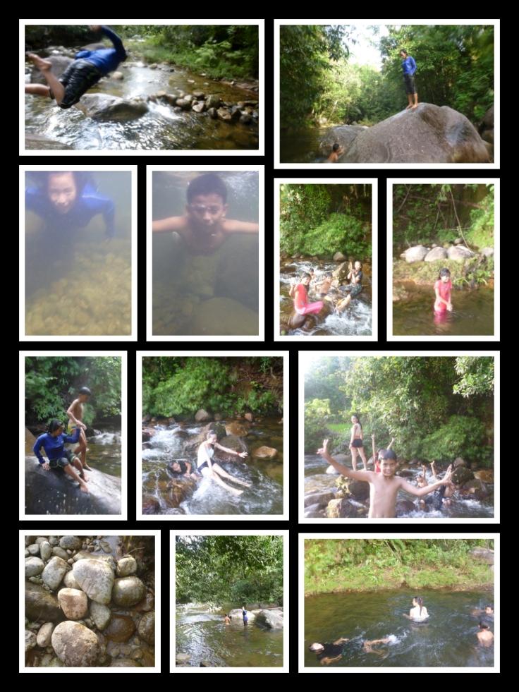 Kampung Jantan river