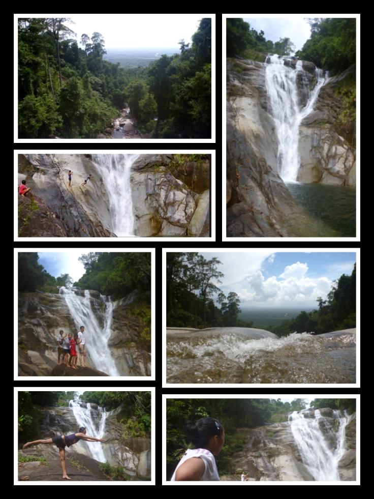 Kampung Jantan. Jangkar Waterfall