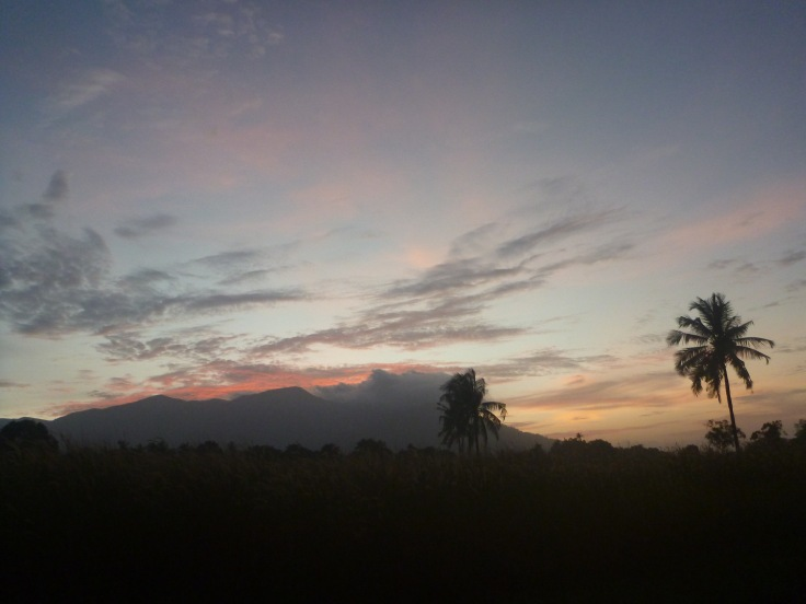 Sunset at Pantai Sematan