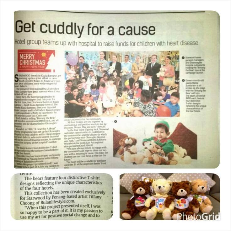 Bintang the Bear The Star Newspaper 16th Dec 2014