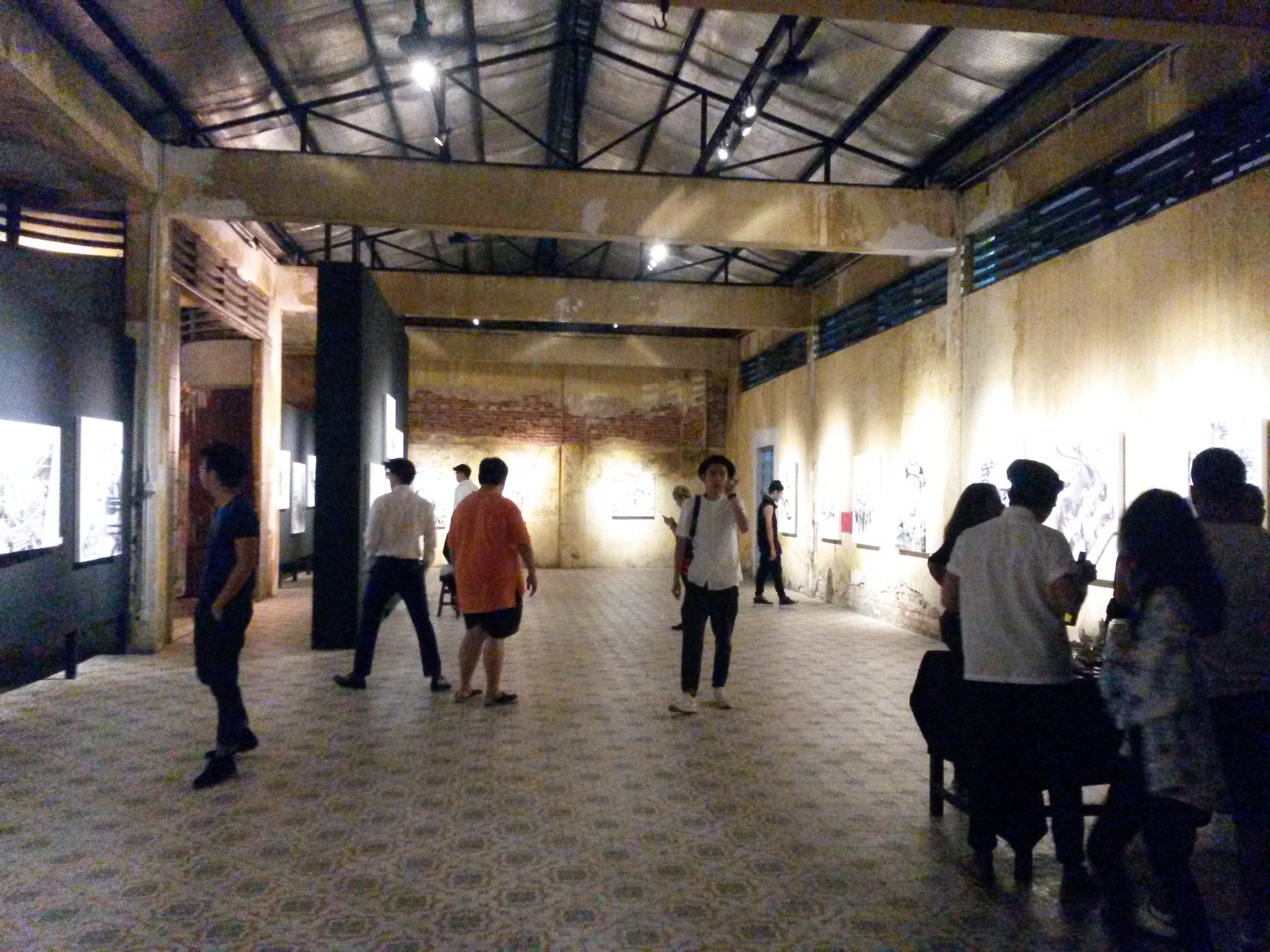 D Exhibition Penang : Thomas powell artist art exhibition from here to there at hin bus