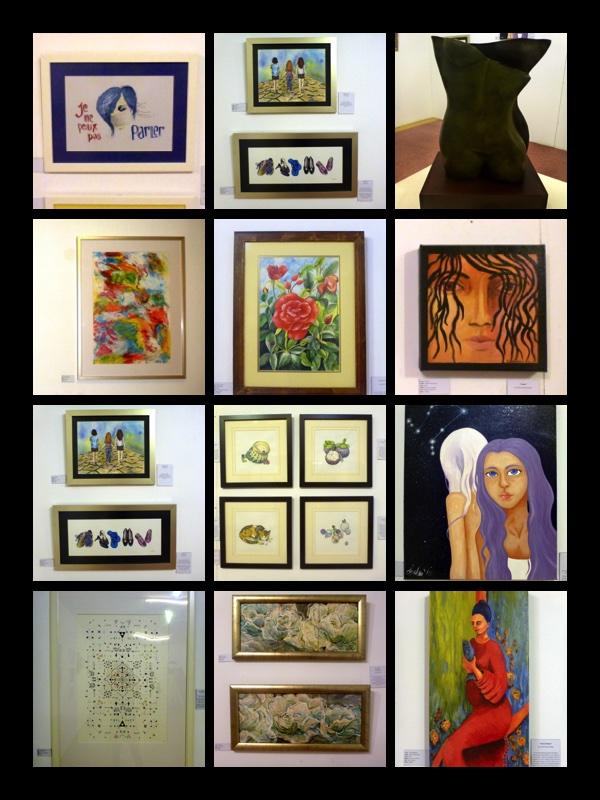 Femmes plurielles all artists work