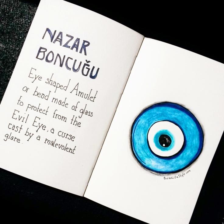 Nazar Boncuglu. Evil Eye amulet