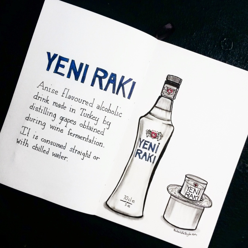 Yeni Raki drawing