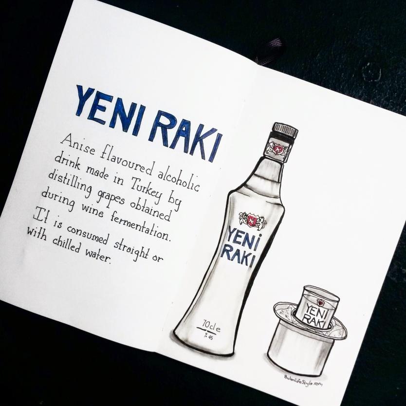 Yeni Raki drawing