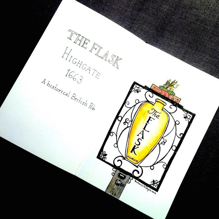 The Flask Pub, Highgate, London