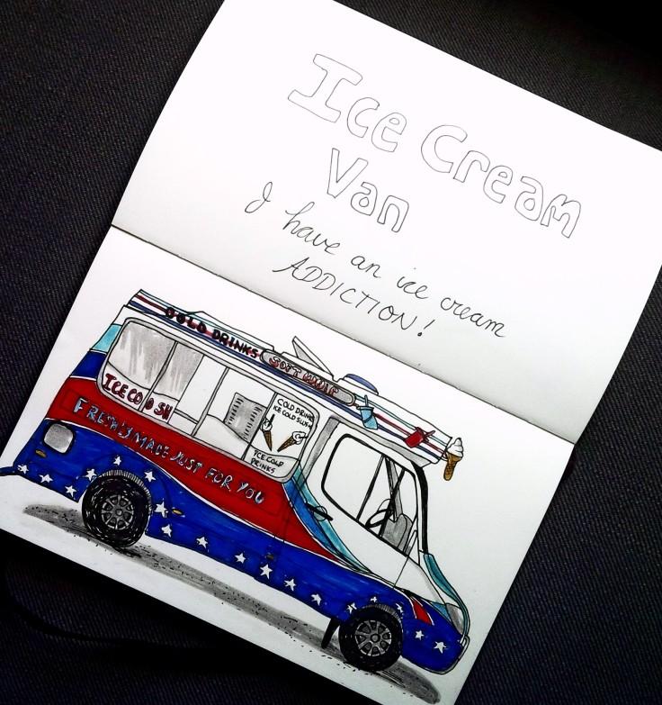 British Ice Cream Van