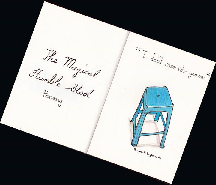 The humble plastic stool Penang