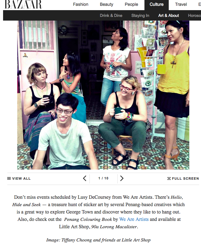 Tiffany Choongs guide to George Town Festival by Harper's Bazaar Malaysia
