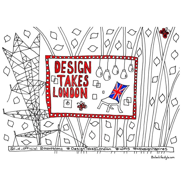 Design takes London. Nature inspires. London Design Festival 2015