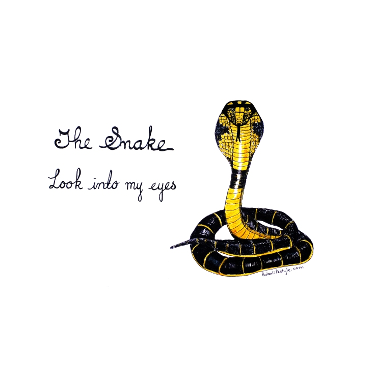The Snake. Look into my eyes.