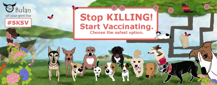 Stop KILLING! Start vaccinating Educate yourself and choose the safest option. #SKSV