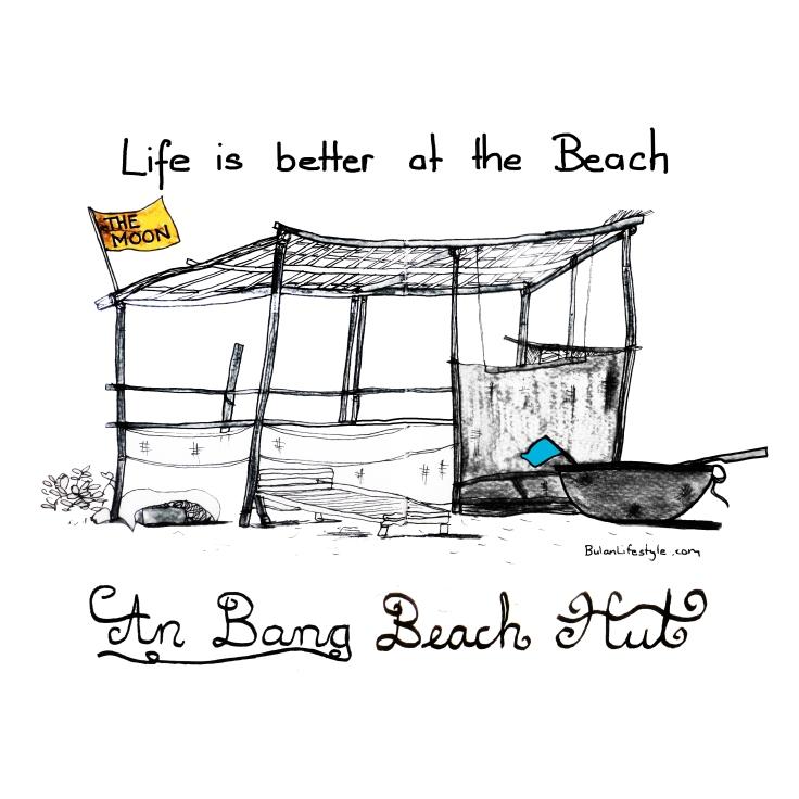 Life is better at the beach. An Bang Beach hut