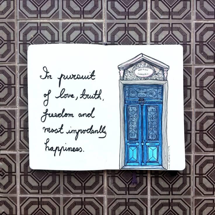 947 Blue door