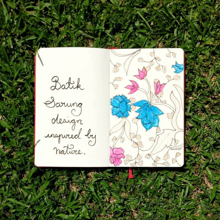 991 Batik sarung