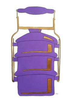 Purple Tiffin